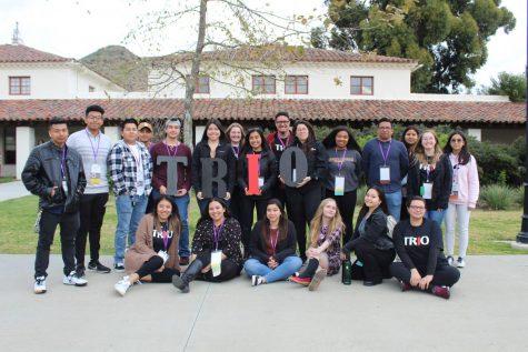Fotografía tomada hace más de un año y muestra a los estudiantes y personal de TRIO. (Contribuiada por Elena Jaloma)