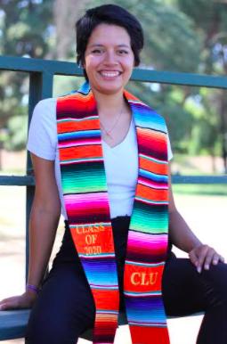"""Shysel Granados, alumni de California Lutheran University, clase de 2020 está en proceso de ser un libro que se llama """"Cafecito""""."""