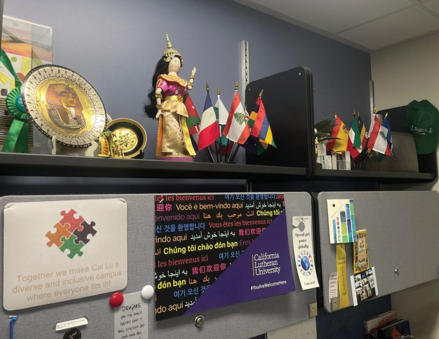 The Center for Global Engagement, which is located above the Student Union, is one of the many resources on campus available to international students.