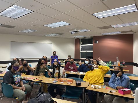 Black Student Union holds their meetings every week on Tuesday night at 7pm, while Sisters Circle meets every Thursday at 6pm.