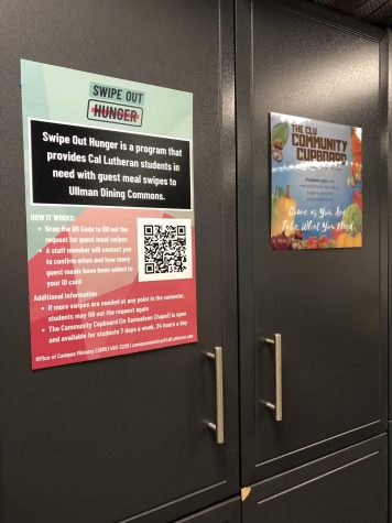 Students can access the Community Cupboard at the Campus Chapel.