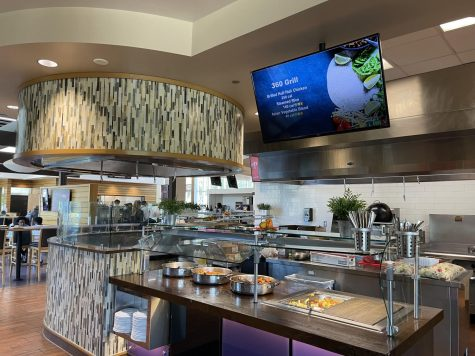 The 360 Grill at Ullman Dining now offers students the option to order through GrubHub.